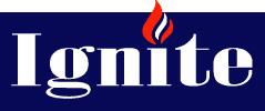 Ignite Heating & Plumbing Logo